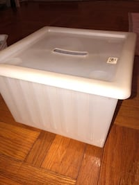 Ikea storage box with wheels! New York, 11230