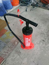 Ozark trail double quick hand pump 2for bike's and more.  Norfolk, 23518