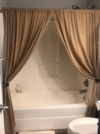 Curtain Panels (like new) luxury Nashville