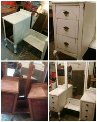 white wooden cabinet with mirror Mississauga, L5L