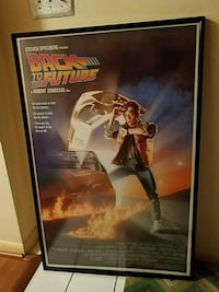 Back to the future framed movie poster 27x40 Pikesville, 21208