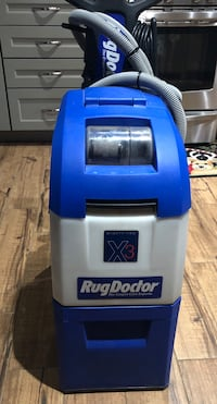 Rug Doctor Mighty Pro X3- used $ 250 Carpet Shampoo and Floor Cleaner with Upholstery Cleaner attachment.   Amarillo, 79119