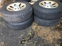 245/70/17 Chevy rims and tires like brand new