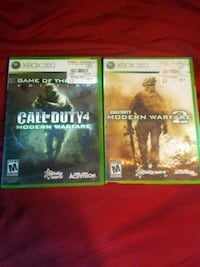 two Xbox One game cases Warrensburg, 64093