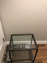 Crate & Barrel end tables side tables