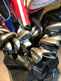 Lot of Golf Clubs (Taylormade, Callaway, Ping)