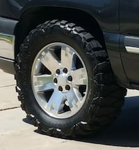 20 Inch GMC Rims with 35s  Brawley, 92227