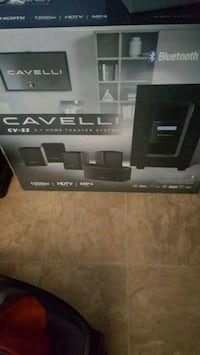 black and gray home theater system box Lake Charles, 70607