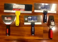 New drywall knives Sterling Heights, 48314