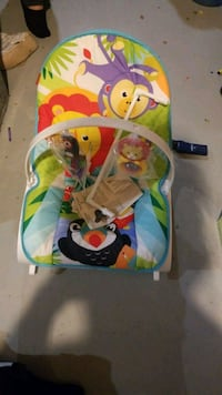 baby's multicolored bouncer Sherwood Park, T8A