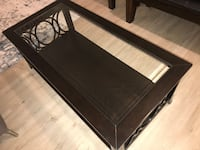 Brand New, Dark Chocolate Coloured, Coffee Table Toronto, M9A 3V3