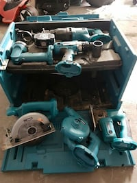 assorted makita blue power tools West Kelowna, V4T 2P6