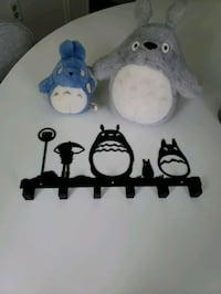 totoro plush dolls and hanger Herndon, 20171