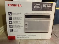 Toshiba 5,000 btu window ac UNOPENED BOX.
