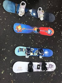 Select sized snowboards  London
