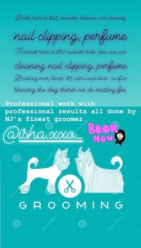 Dog grooming Linden
