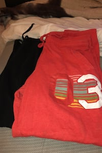 Two pairs of sweatpants women's size large