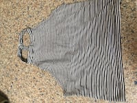 black and white striped sleeveless dress Wantagh, 11793