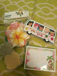 Hawaiian/tropical themed stickers and sticky notes Meriden, 06451