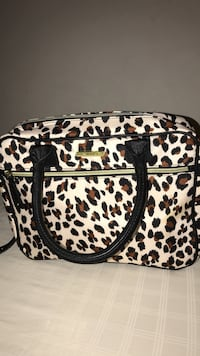 Betsey Johnson cosmetic or carry-on bag