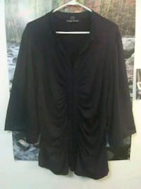 Woman's 2 XL black dressy sexy blouse  Las Cruces, 88001