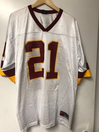 NFL Nike Washington Redskins Neon Deion sanders jersey sz Large