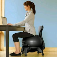 GAIAM Balance ball with chair for posture & health Los Angeles, 91401