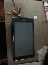 Pioneer app radio 4. Has Apple car play  it was used maybe 6 months very good condition!! 404 mi
