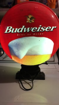 Budweiser light up sign small crack on other side  still works Mount Airy, 21771
