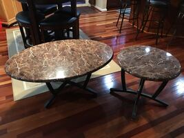 Coffee table+end table