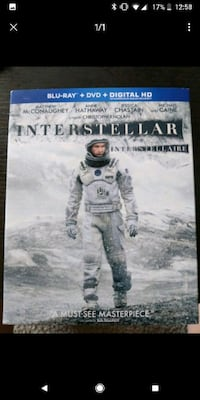 Interstellar Blu Ray London, N6K 1M2