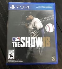 MLB The Show '18 PS4 Edition Mississauga