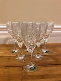 Crystal Glass Set of 6- Shannon Crystal Poughkeepsie, 12601