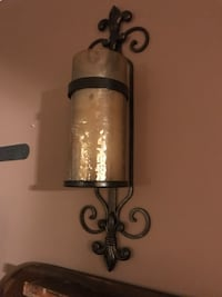 2 Black wall mount candle holder Fort Washington, 20744