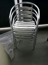 Aluminum outdoor chairs 4 The Bronx