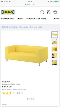 IKEA love seat  Garfield, 07026