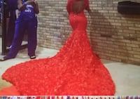 Red Prom Dress ( preowned) 644 mi