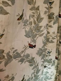 white and gray floral textile 42 km