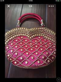 pink and gold colored handbag screenshot