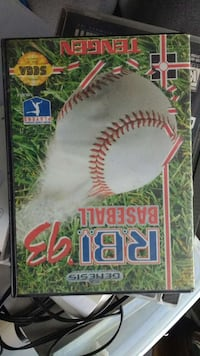 rbi baseball 93 Sega Genesis video game