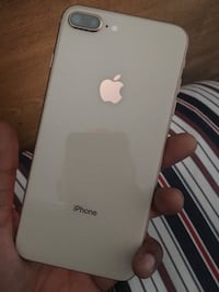 silver iPhone 6 with case New York, 10304