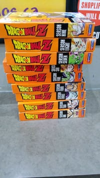 Dragon Ball Z 9 Seasons (Individually Priced)