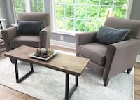 High end taupe armchairs Excellent Condition Germantown, 20874