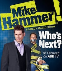 MIKE HAMMER SHOW TICKETS LAS VRGAS!!!
