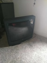 black CRT TV with remote Payson, 84651
