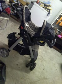 baby's black and gray stroller Cleveland, 37323
