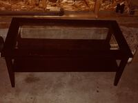 rectangular brown wooden coffee table Sherwood Park, T8H 0A6