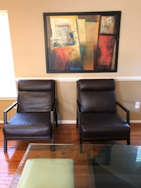 Leather sitting chairs!  Excellent condition!! Collegeville, 19426
