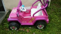 pink and purple ride on toy car Silver Spring, 20906