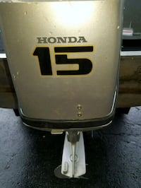 15hp honda 14ft boat .with inside and out side lig Ottawa, K4C 1C7